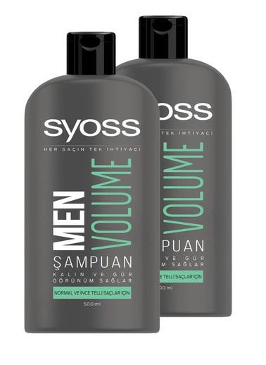 Syoss Syoss Men Volume Şampuan 550 Ml X 2 Adet Renksiz